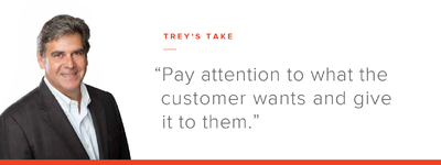 Trey's Take: Stratify Offerings to Satisfy Customer Needs