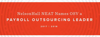 NelsonHall NEAT Report Names OSV a Payroll Outsourcing Leader