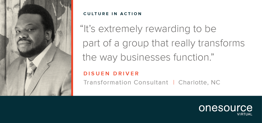 Culture in Action - OSV Employee Profile: Disuen Driver