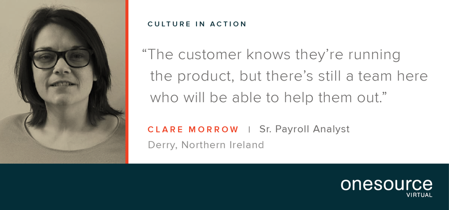 Culture in Action - OSV Employee Profile: Clare Morrow