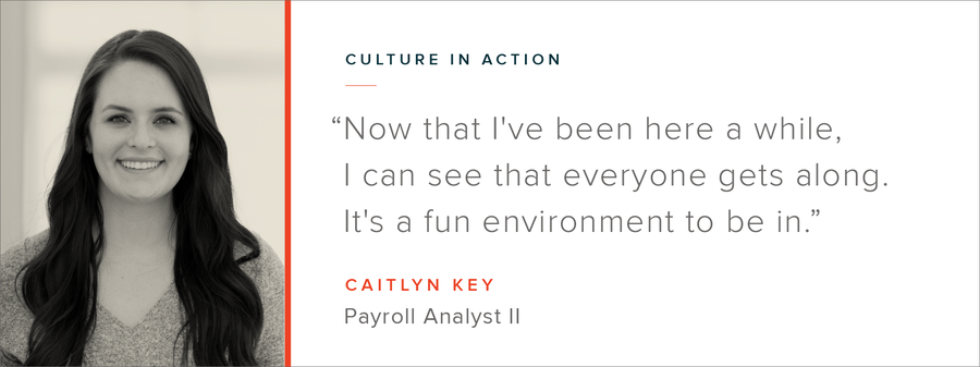 Culture in Action - OSV Employee Profile: Caitlyn Key