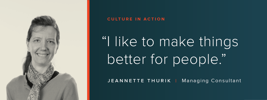 Culture in Action: OSV Profile: Jeannette Thurik
