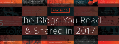The Blogs You Read and Shared in 2017