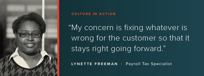 Culture in Action: OSV Profile – Lynette Freeman