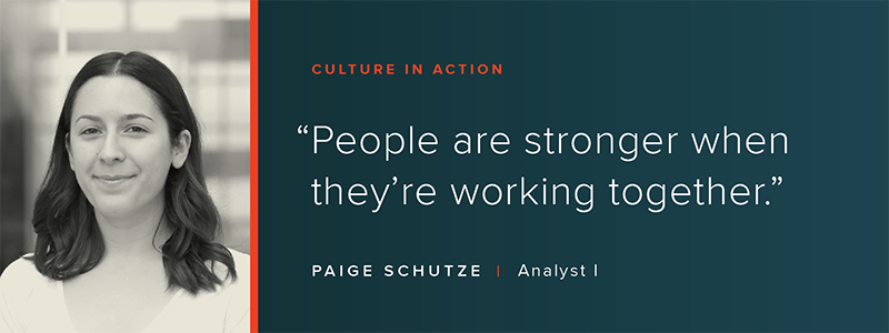 Culture in Action: OSV Profile - Paige Schutze