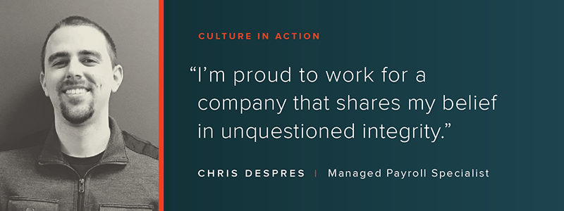 Culture in Action: OSV Profile - Chris Despres