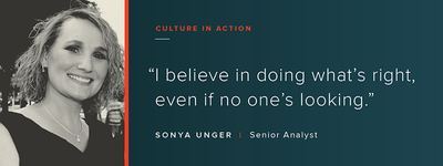 Culture in Action: OSV Profile – Sonya Unger