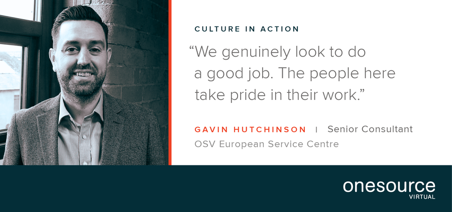 Culture in Action – OSV Employee Profile: Gavin Hutchinson