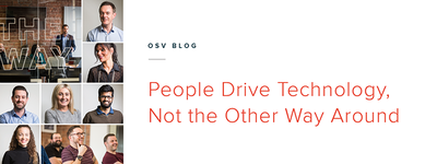 People Drive Technology, Not the Other Way Around