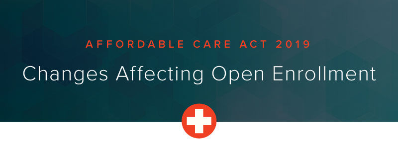 Affordable Care Act 2019: Changes Affecting Open Enrollment