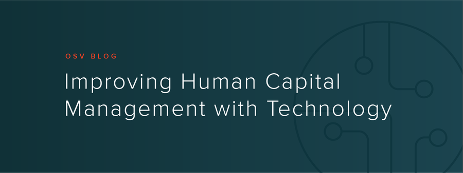 Improving Human Capital Management with Technology