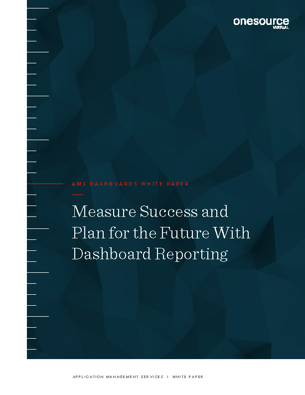 Measure Success and Plan for the Future With Dashboard Reporting