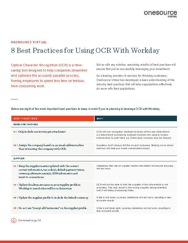 OCR Best Practices